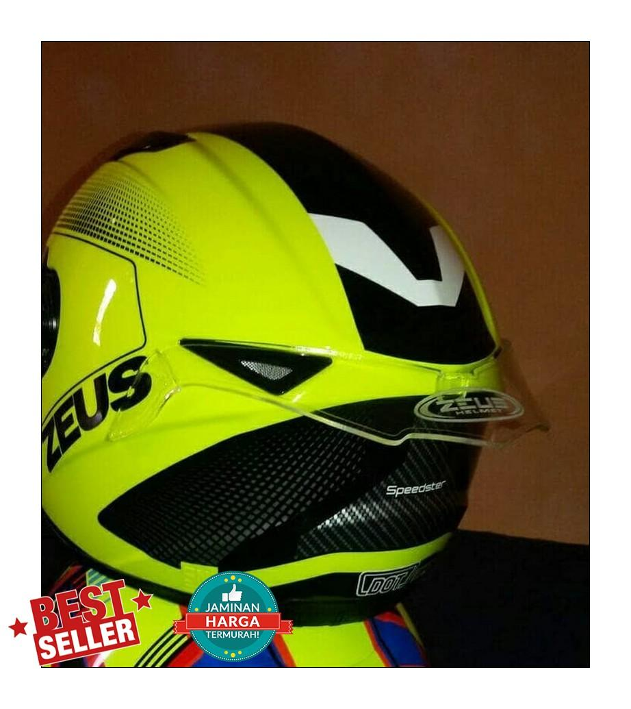Helm Zeus Full Face 811 Harga   Ash Cycles 60c472fd06