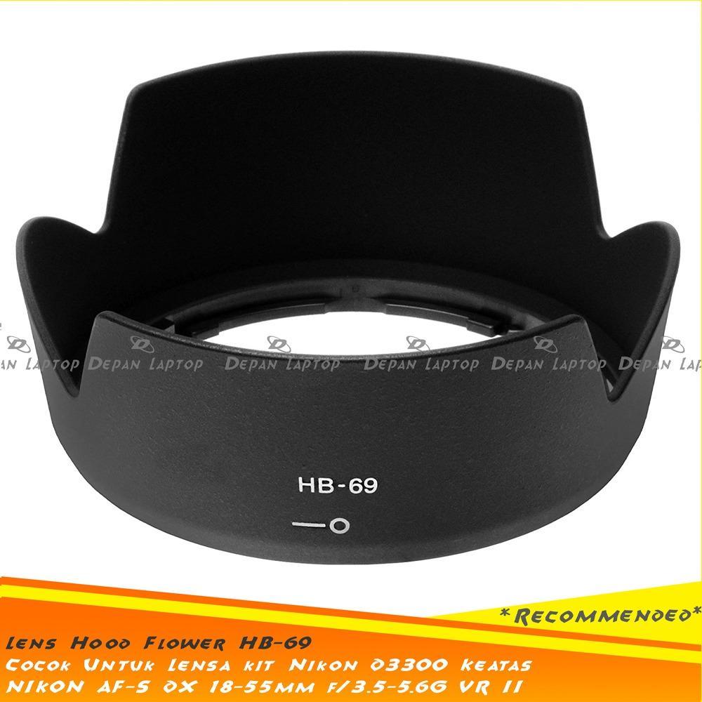Fitur Nikon D7100 Kit 18 140 Vr Hitam Dan Harga Terkini Katalog D3300 55mm Lens Hood Hb 69 Lensa Af S Dx F3