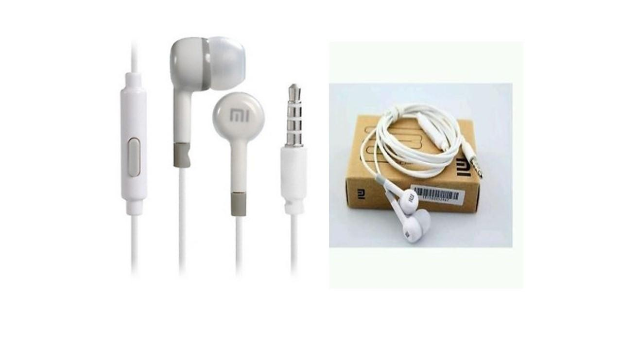 HANDSFREE FOR XIAOMI STEREO PORTABLE HEADSET/EARPHONE/IN EAR - PUTIH