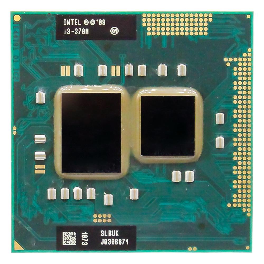 Lntel Core I3 370 M 2.40 GHz Prosesor Dual-Core PGA988 Ponsel Laptop CPU Prosesor