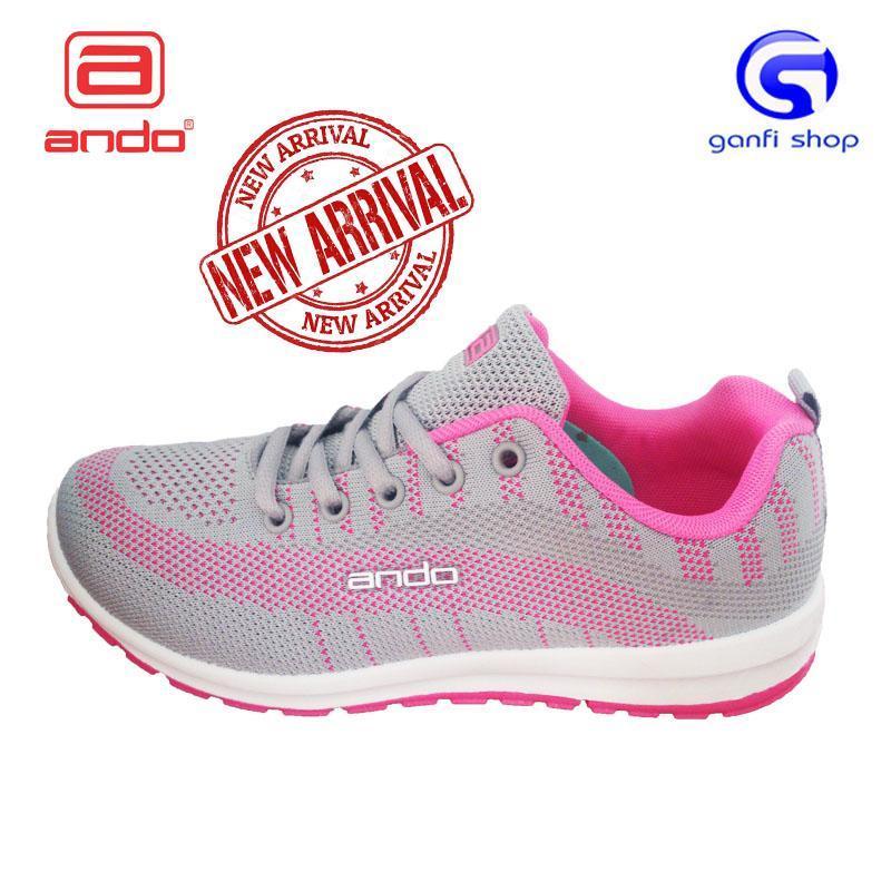 Ando Agnes Sepatu Olahraga Sepatu Casual Wanita