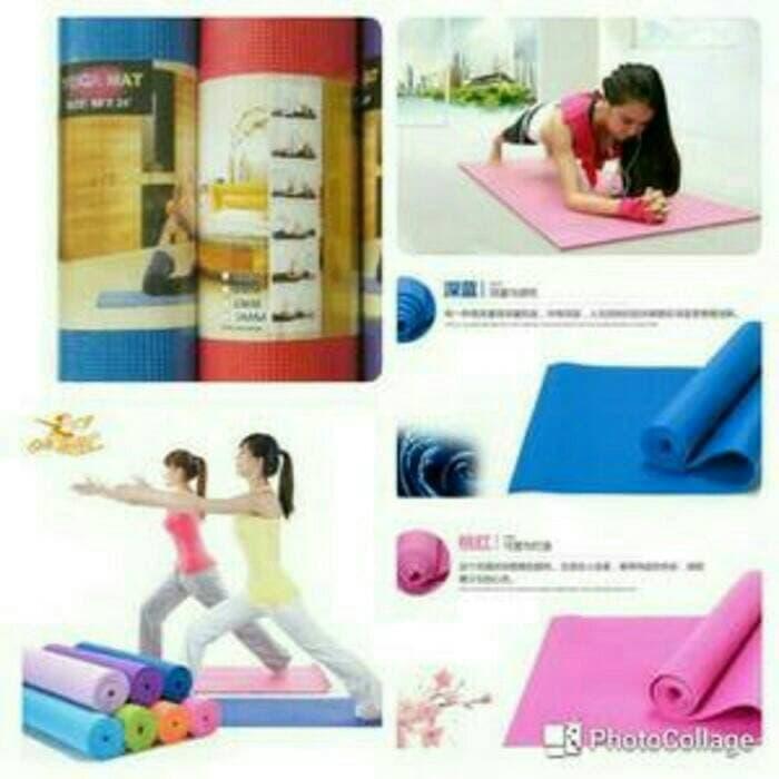 Yoga Mat Matras Olahraga Yoga Senam Fitnes Anti Slip - Gril3r