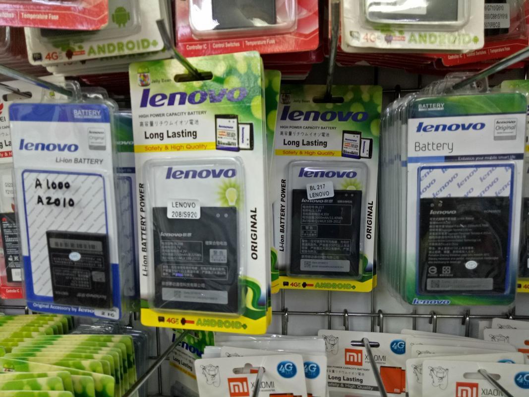 ... Batre Baterai Original Lenovo A706 BL 209 BL209 - 3