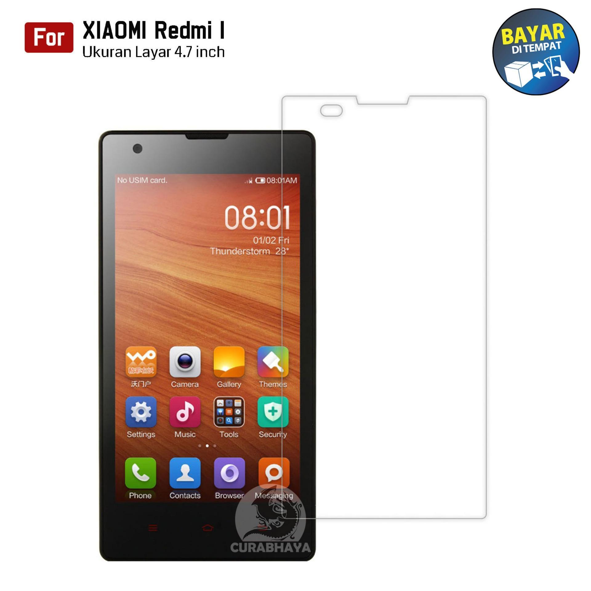 Kong Tempered Glass Xiaomi Redmi 1 / 1S | 9H Screen Protector 0.32mm - Bening