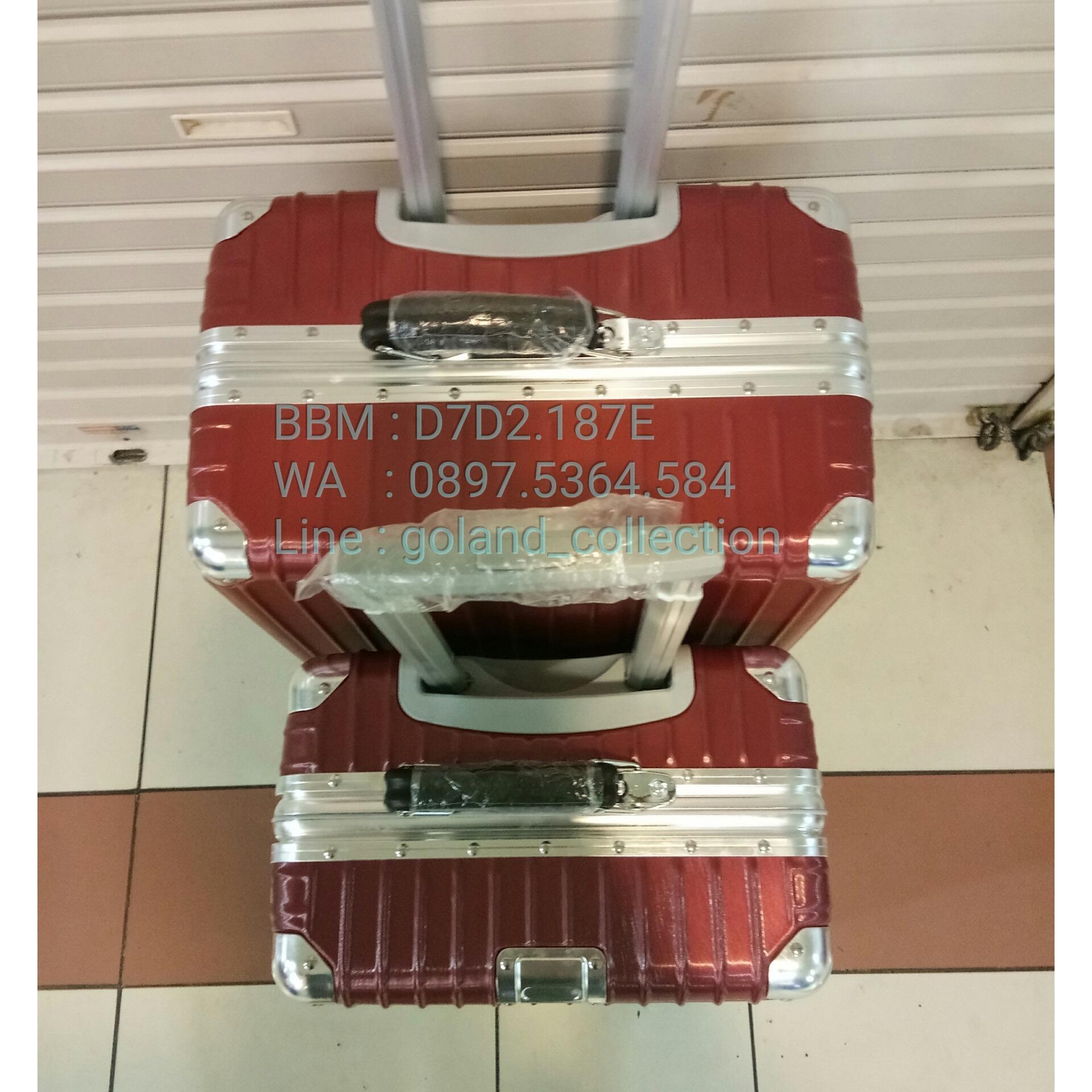 Kelebihan Koper Rimowa Tipe Classic Material Polycarbonate Merah Fiber Uk 24 Hq Ukuran Bagasi Inch 3