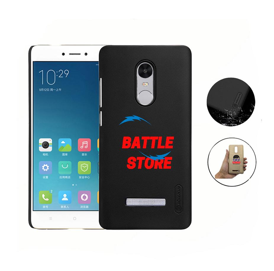 Xiaomi Redmi Note 3 Pro Case Nillkin Frosted Shield Hardcase For Xiaomi Redmi Note 3 - Hitam