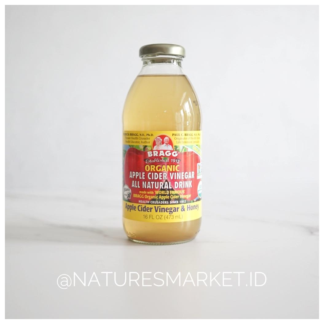 Kelebihan Bragg Organic Apple Cider 473 Ml Terkini Daftar Harga New Arrival Vinegar Naturesmarketid All Natural Drink Honey
