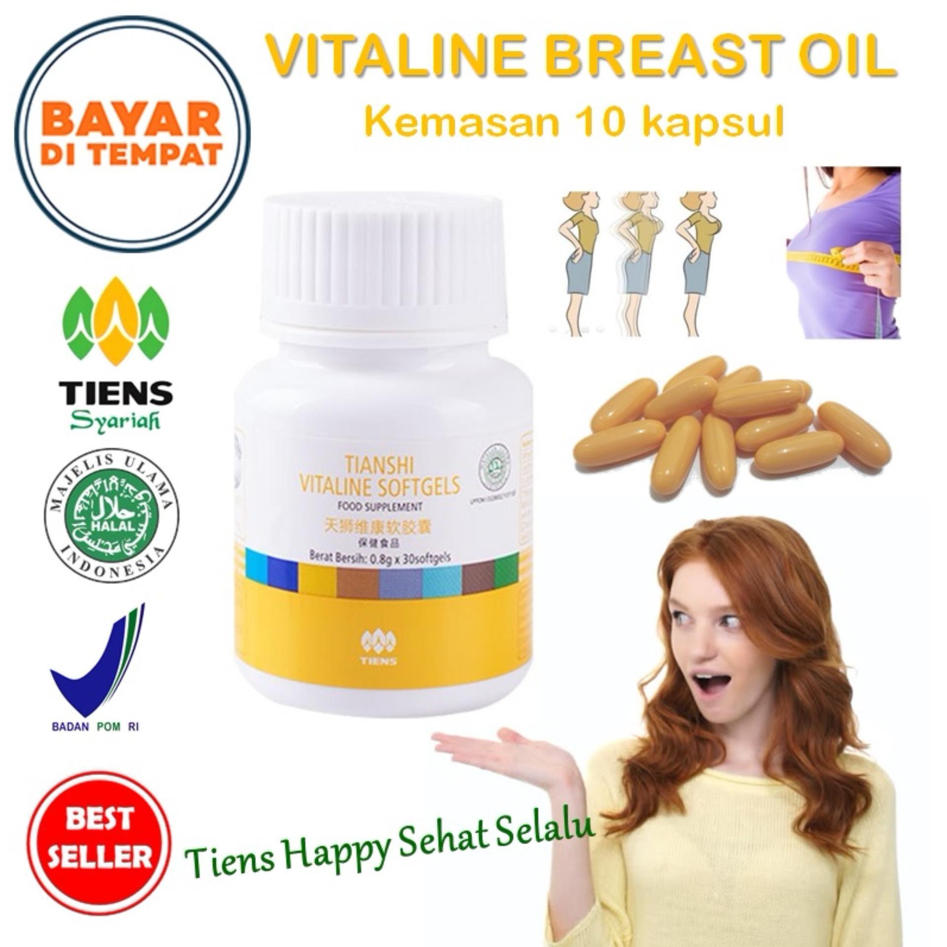 Harga Tiens Vitaline Vitamin E Pengencang Payudara Paket Promo New