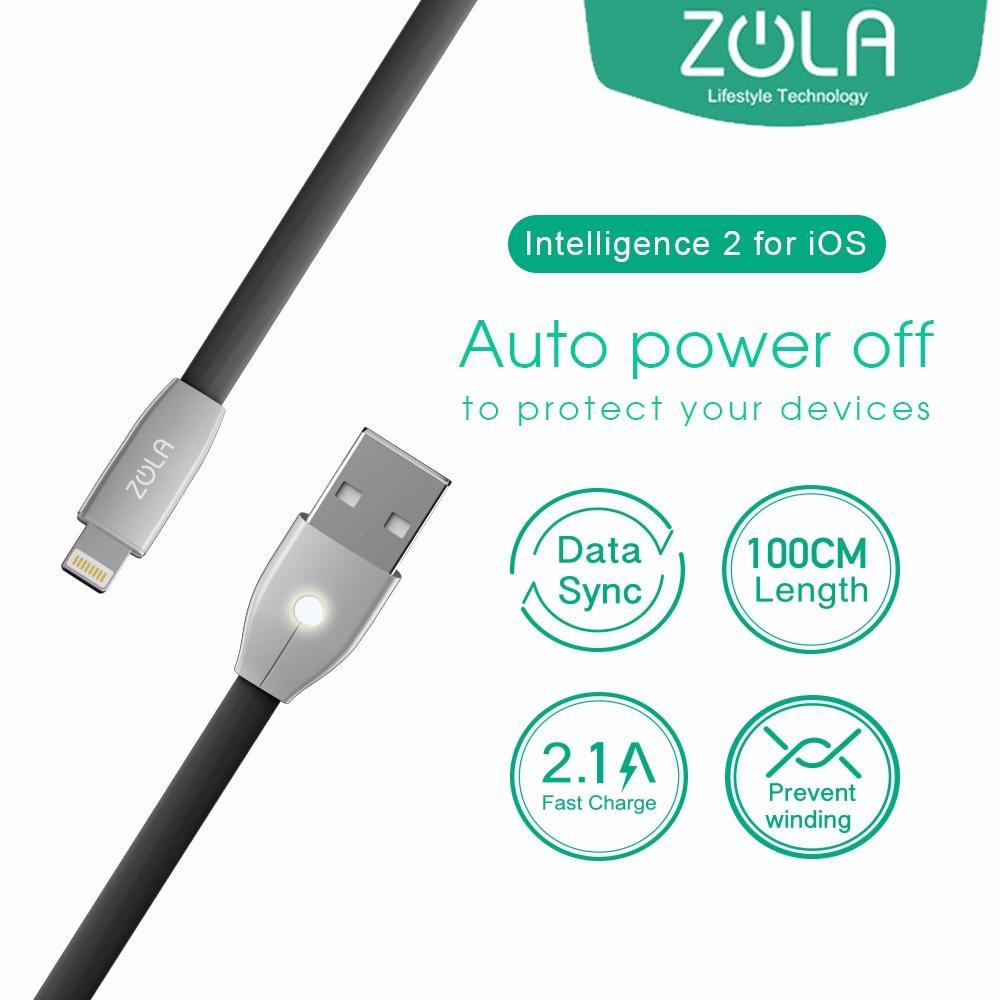 Kelebihan Mcdodo Zinc Knight 1 8m Auto Disconnect Lightning Data Cable 18m Merah Kabel Iphone Zola Intelligence 2 Power Off 100cm Fast Sync Charging