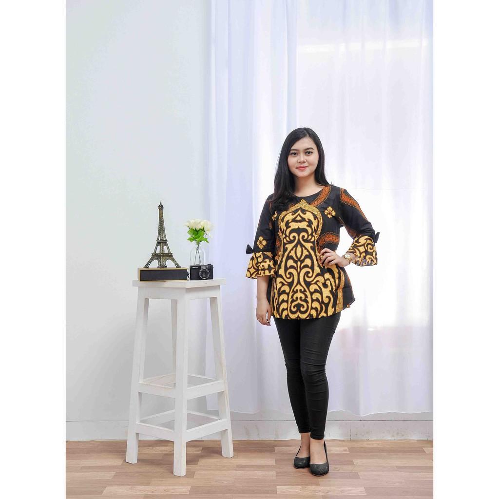 Fitur Blouse Batik Batik Atasan Wanita Model Baju Batik Modern