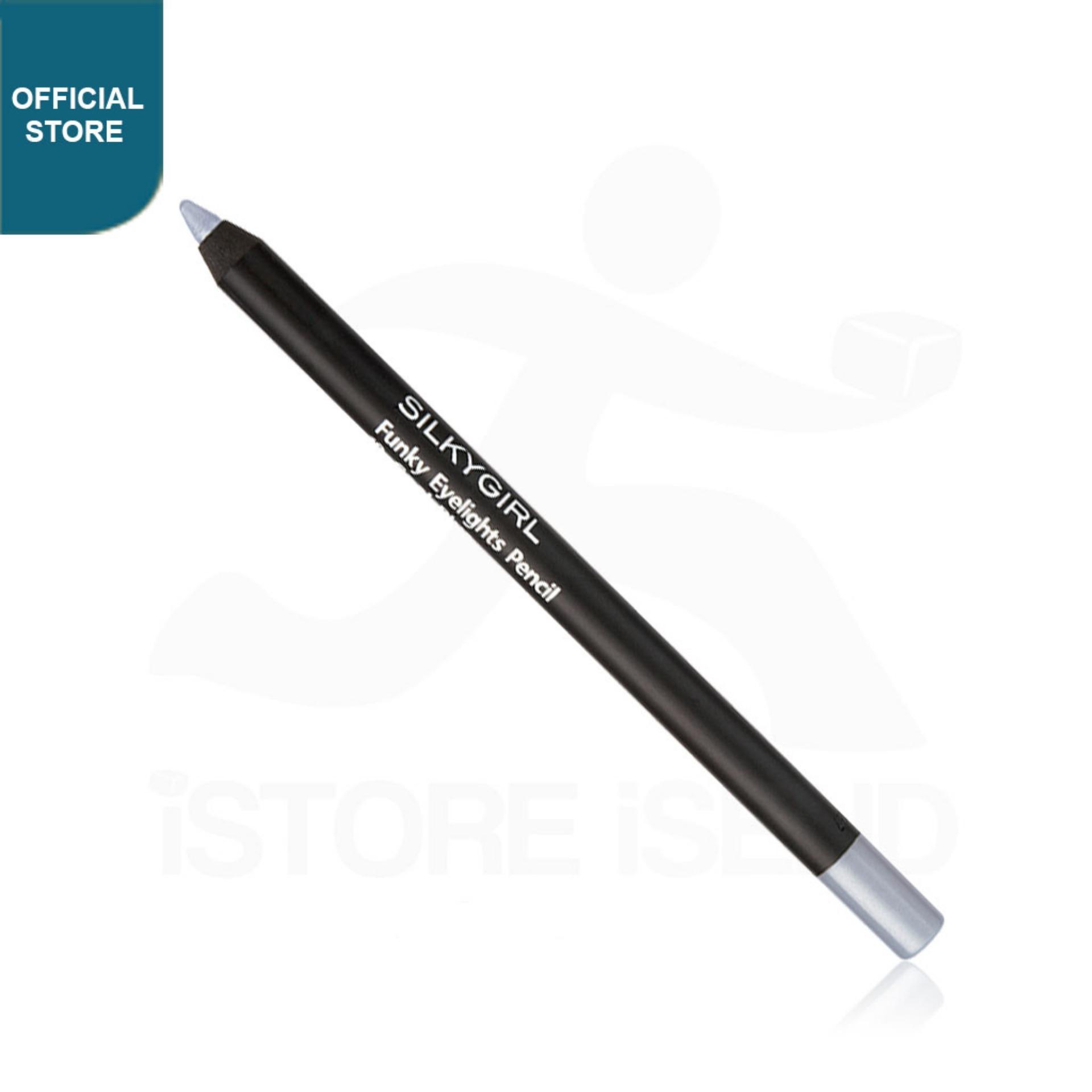 Kelebihan Silkygirl Eyeliner Pencil Frosty Silver Terkini Daftar Gamis Raindoz Bbr251 Funky Eyelight 08 Ge0204