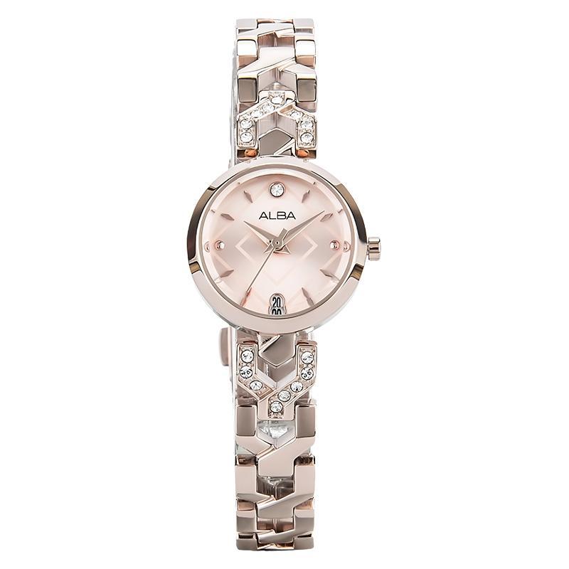 Alba AH7M40X1 Jam Tangan Wanita Stainless Steel Bracelet