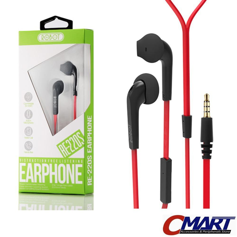 Kelebihan Pioneer Se C3t Earphone With Mic Red Terkini Daftar Phrodi 007p Pod Robot Re220s Headset Headphone Microphone Merah Rob