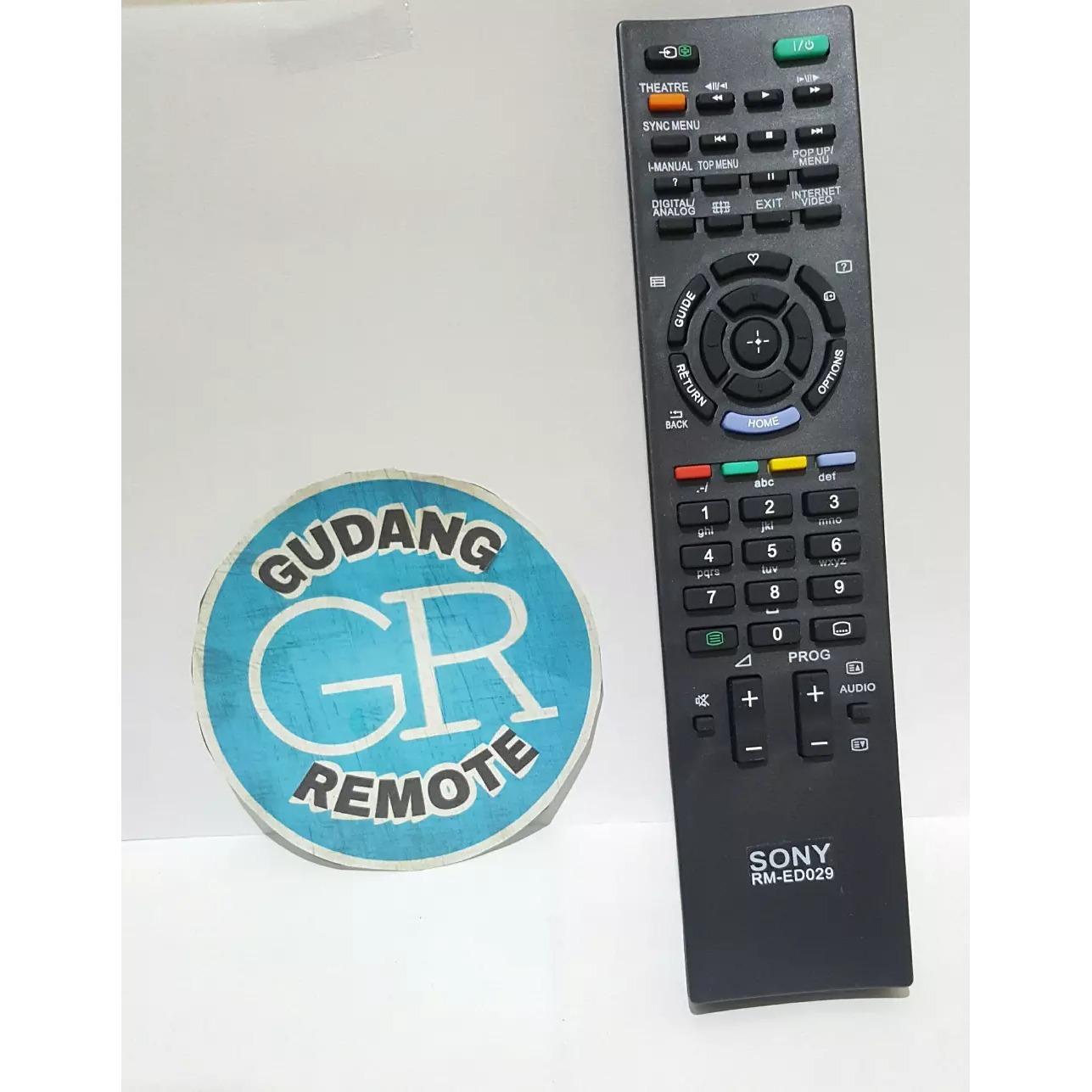TERLARIS Remote TV Sony Lcd-Led TOKO RISBAS