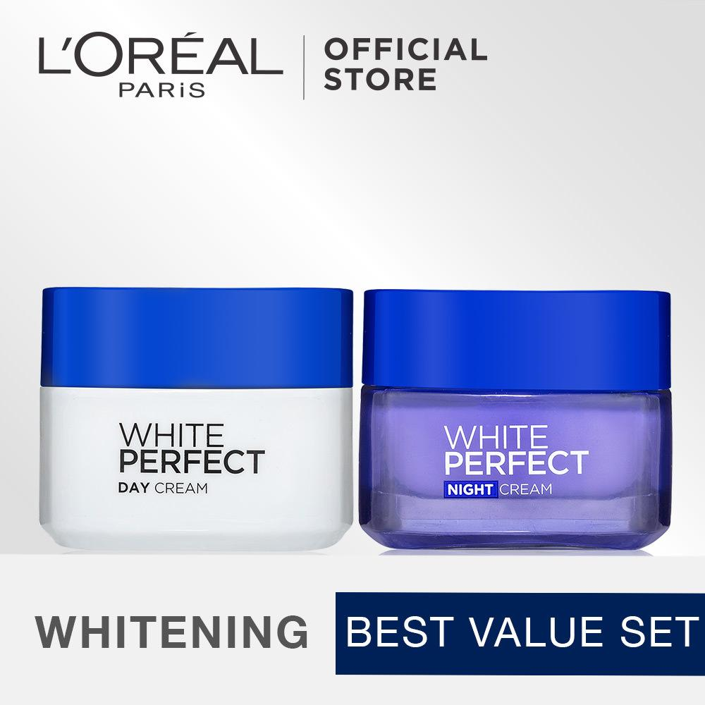 L Oreal Paris Dermo Expertise White Perfect Melanin Vanish Cream Kit Murah