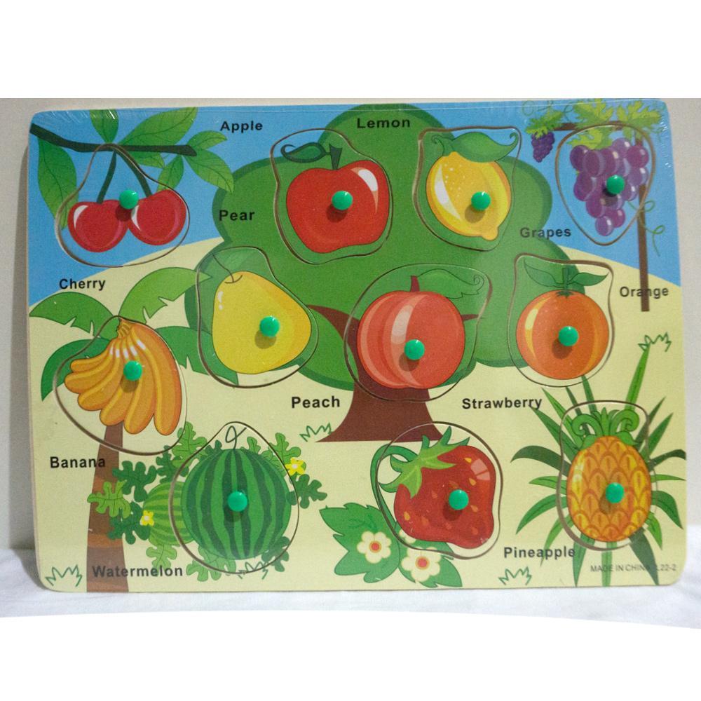 Fitur Ukulele Gitar Mainan Gambar Buah Buahan Multi Color Dan Harga Kayu Puzzle Stiker Sayur Fruit Knop Edukatif L22 2