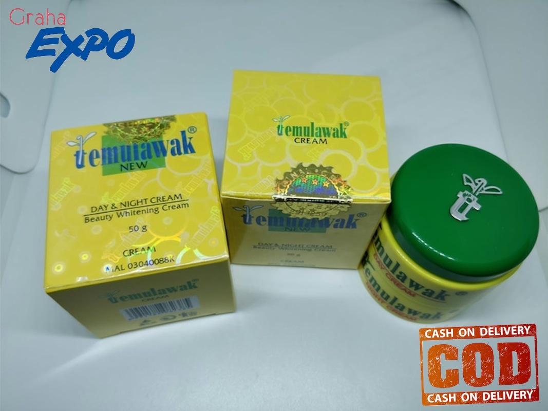 Gambar Produk Rinci Temulawak Paket 3 in 1 Krim Siang dan Krim Malam Plus Sabun Widya Original Hologram Emas Besar Day Cream and Night Cream Terkini