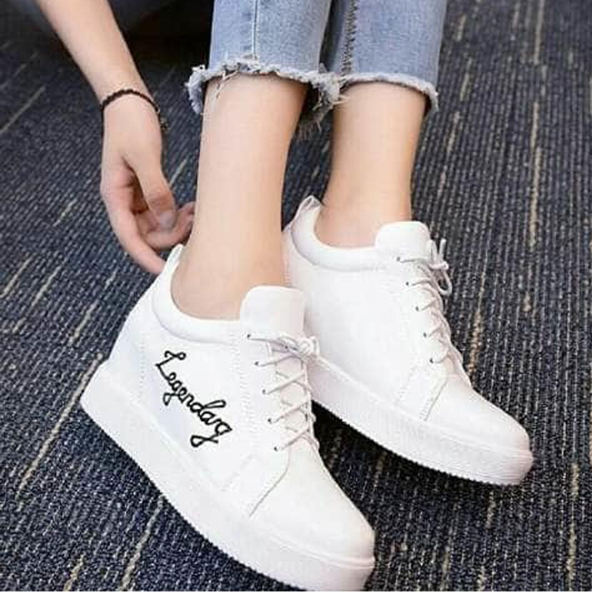 Jual Femine Sepatu Wanita Boots Legendary Lg01 Putih Femine Ori