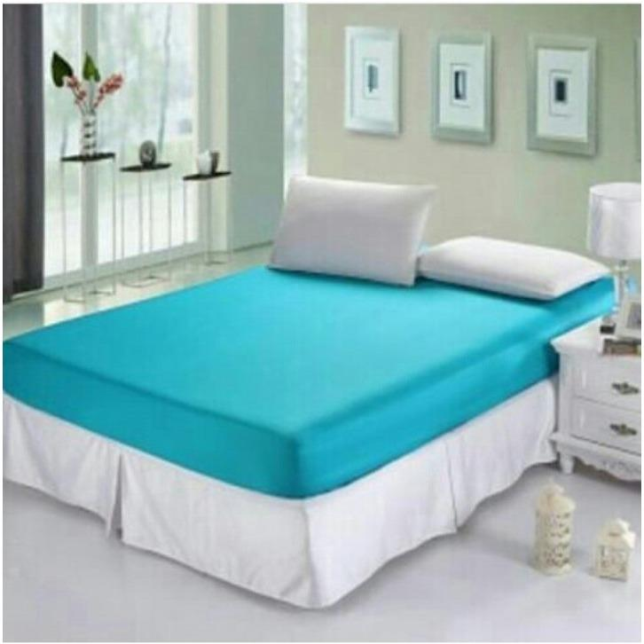 Beli Jaxine Sprei Waterproof Anti Air Bahan Import Polos Aneka Warna Sprei Waterproof Online Murah