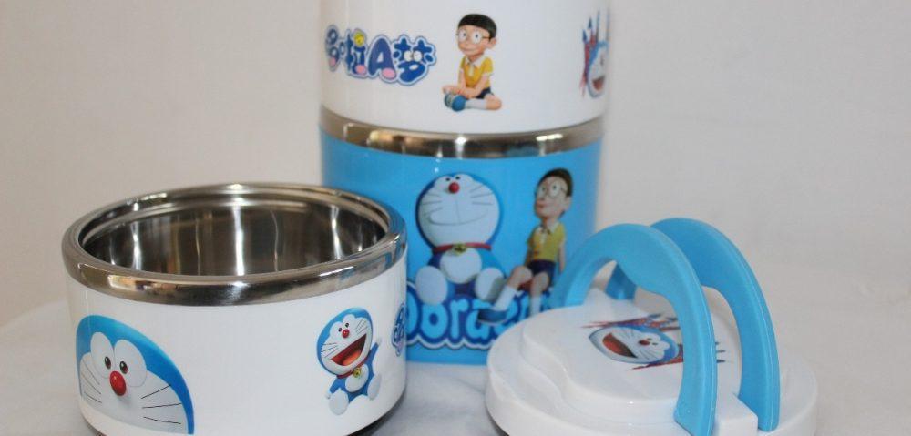 NDR-Store Tempat Makan Tiga Susun Rantang Makanan Stainles Anti Karat Karakter Random - 2 ...