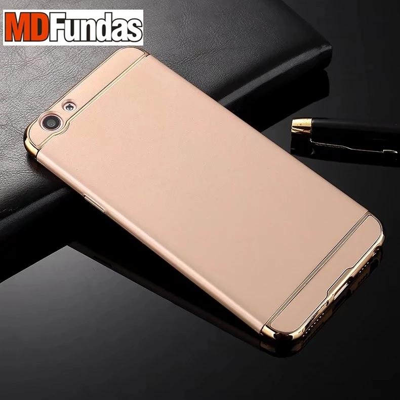 Casing HP 3 in 1 Protection Case Gold Oppo F1s A59