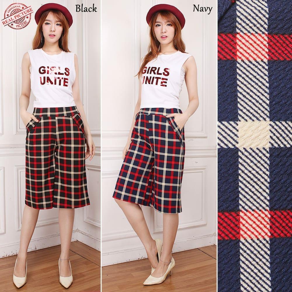 Shining Collection Best Celana Pendek Ilaskd Casual Shortpant Jumbo Wanita