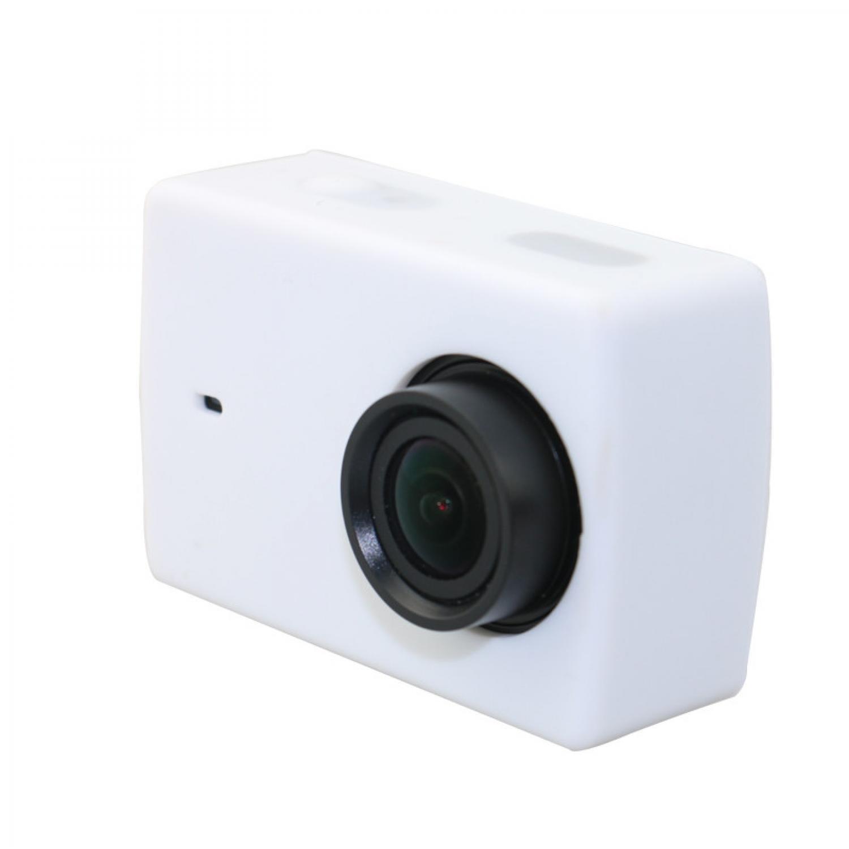 ... Action Camera Silicone Case + Lens Cover for Xiaomi Yi 2 4K / Yi Lite Silikon ...