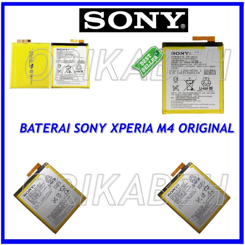 Detail Gambar Sony Baterai / Battery Sony Xperia M4 / Aqua Original - Kapasitas 2400mAh +