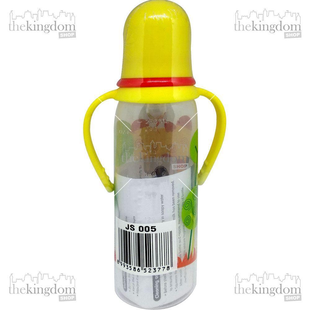 Baby Safe JS005 Bottle Handle 250ml Yellow Botol Susu Anak Kuning - 2 ...
