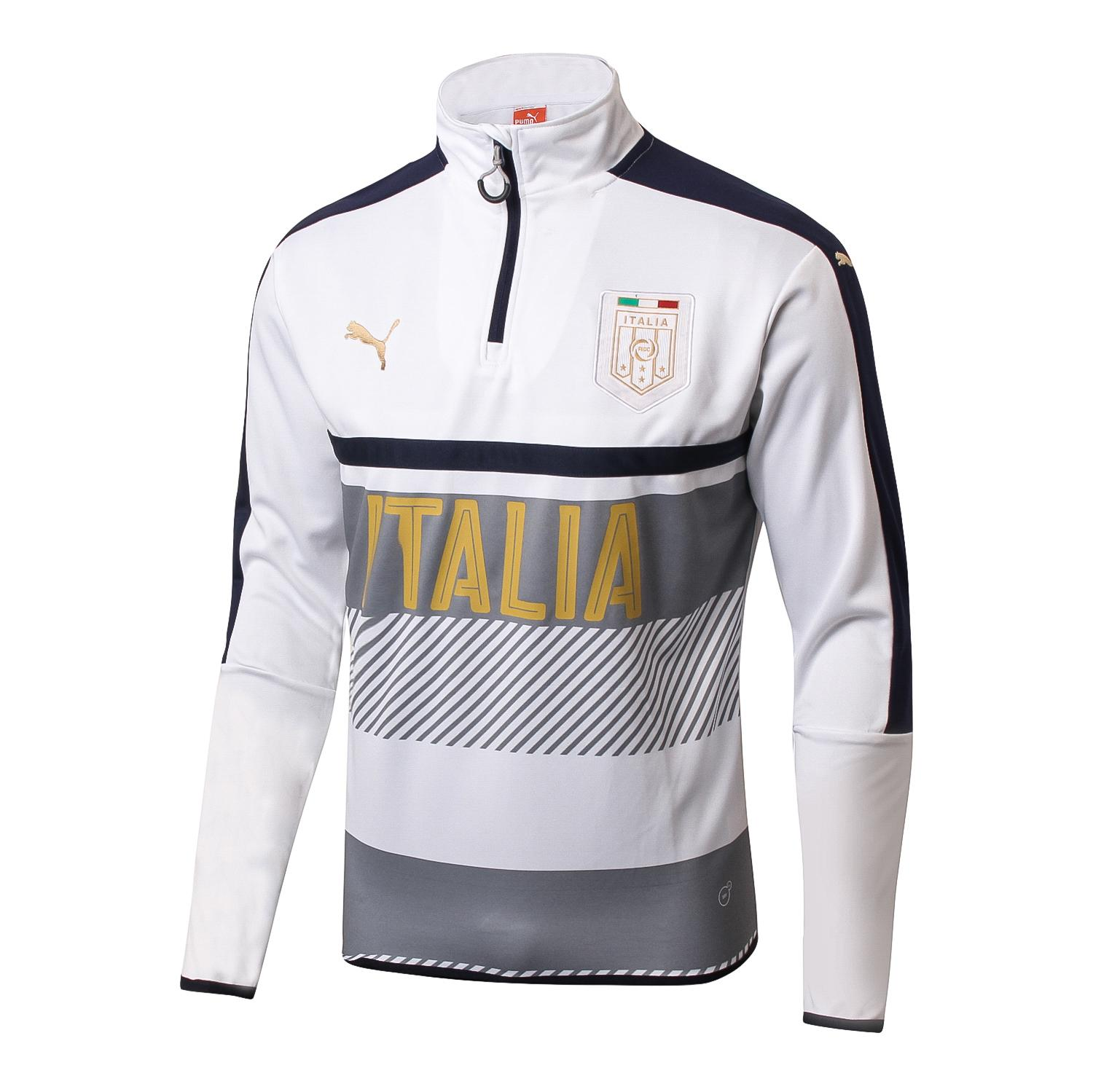 Review Tentang Top Quality Italy National Team Long Sleeve Jersey T Shirt 2017 2018