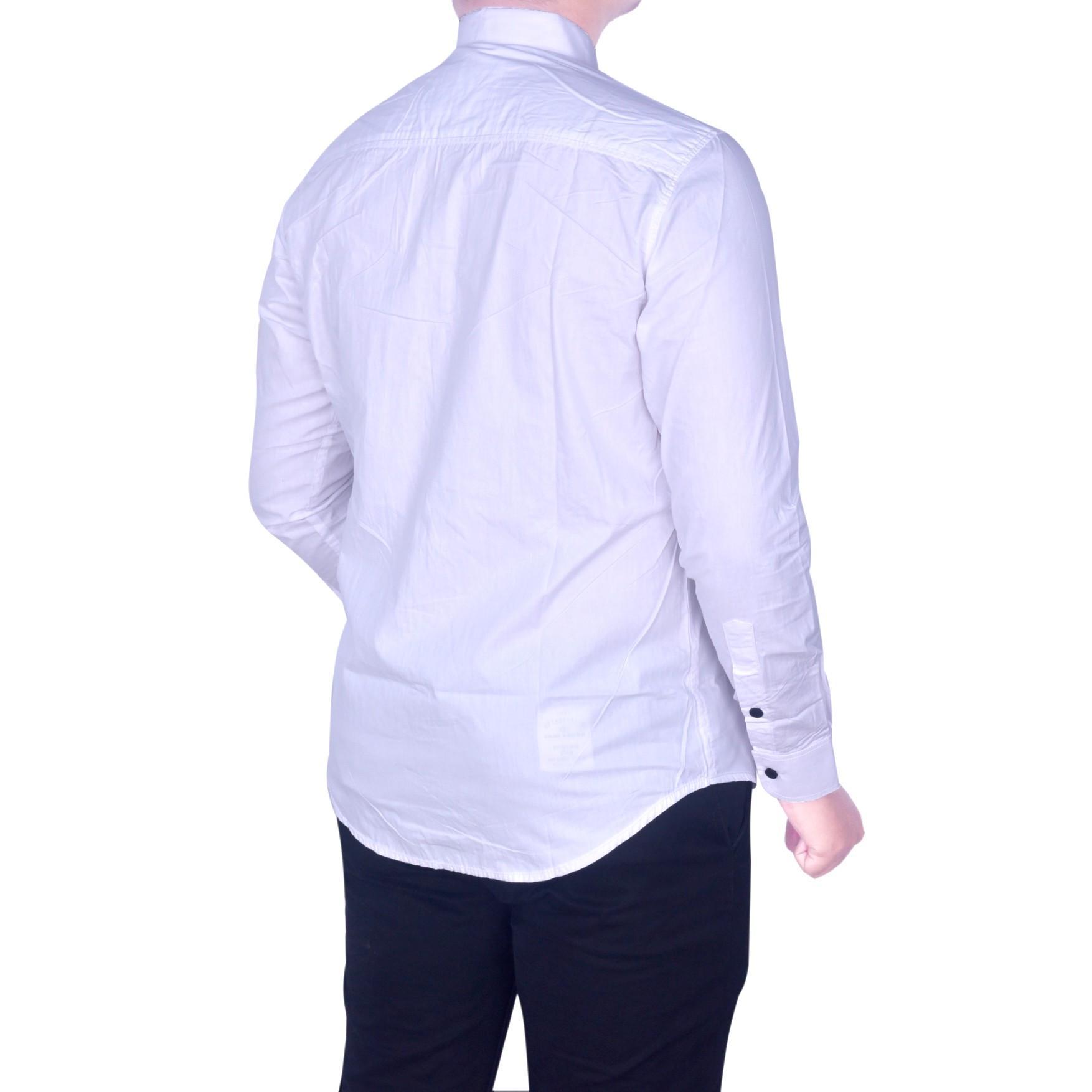 BSG_Fashion1 Kemeja Pria Lengan Panjang Putih Polos /Kemeja Batik Songket/Kemeja Songket/Kemeja Formal/Kemeja Flanel/Kemeja Pantai/Kemeja Casual/Kemeja Polos/Kemeja Tartan/Kemeja Pantai/Kemeja Distro/Kemeja Batik/Kemeja Man PS 4748 Putih - 2