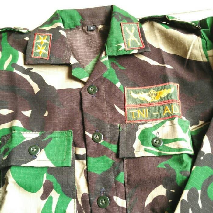 Baju Tni Anak U002F Seragam Tni U002F Baju Karnaval Anak - ready stock Terbaru