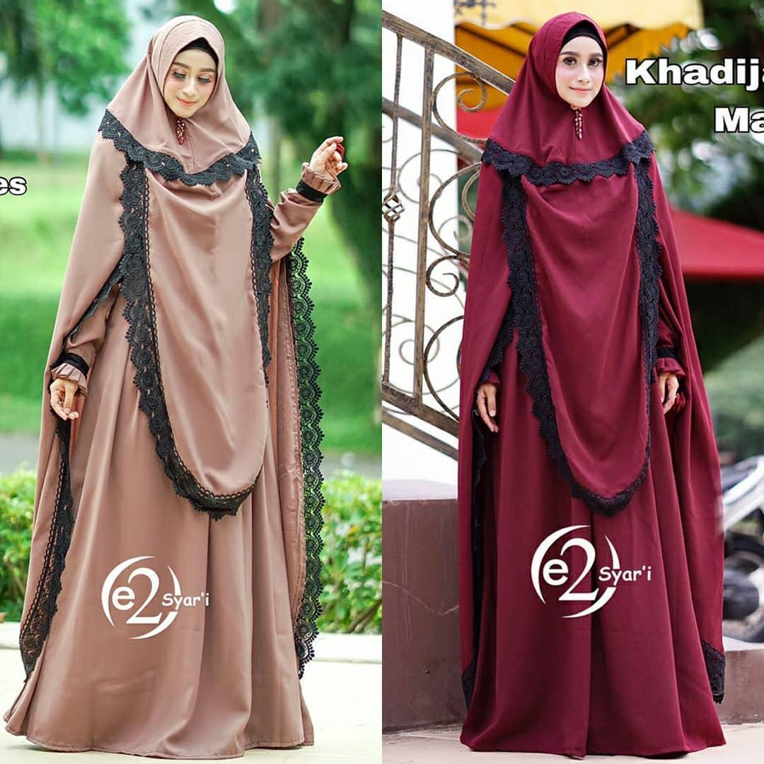 Fitur Stelan Gamis Premium Hijab Jilbab Dan Harga Terbaru Daftar