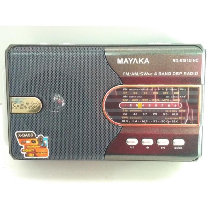 Mayaka RD-8181UHC Radio Portabel