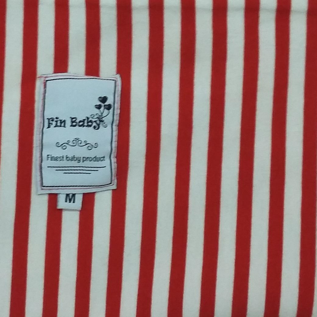 Features Baby Pouch Sling Gendongan Instan Bayi 2in1 Bahan Kaos Geos Simple Size Xl Premium Motif Garis Merah L