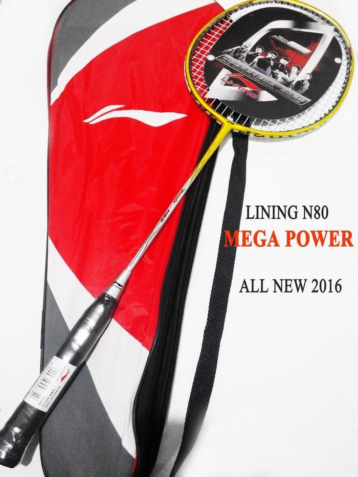 RAKET LINING Woods N80 MEGA POWER New 2016