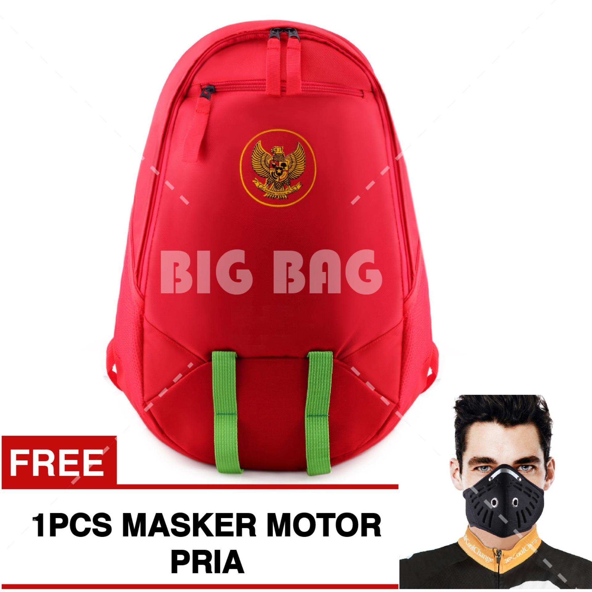 Jual Cepat Tas Ransel Bola Pria Garuda Indonesia Laptop Backpack Men Soccer Editions Red Free Masker Motor Pria