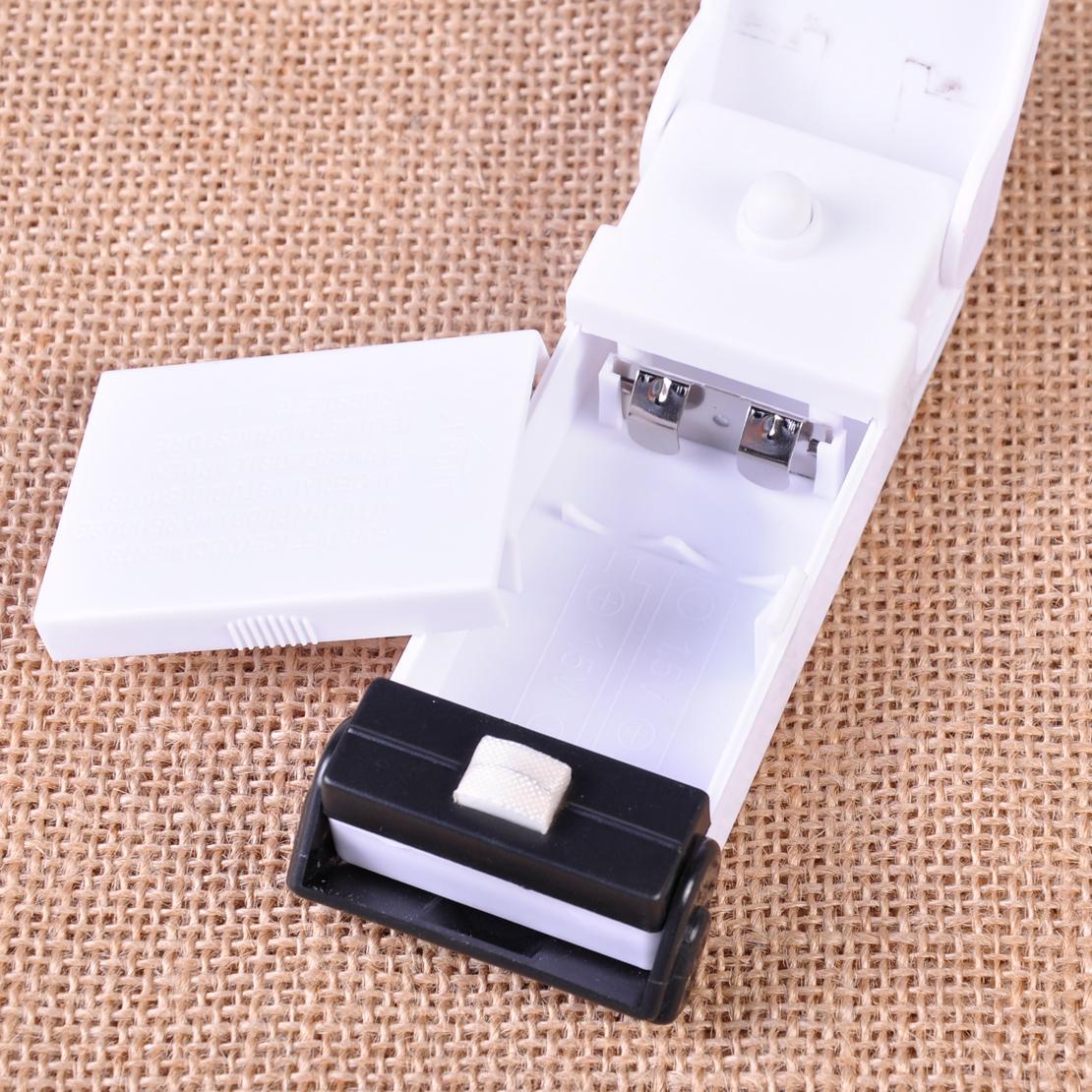 Cek Harga Baru Benz Mini Portable Hand Sealer Perekat Kemasan Plastik Super Handy Pengemas Makanan Putih 3