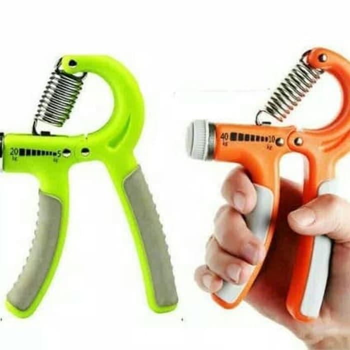 Handgrip Hand Grip 10-40 kg Alat bantu fitness Otot lengan Portable - 4