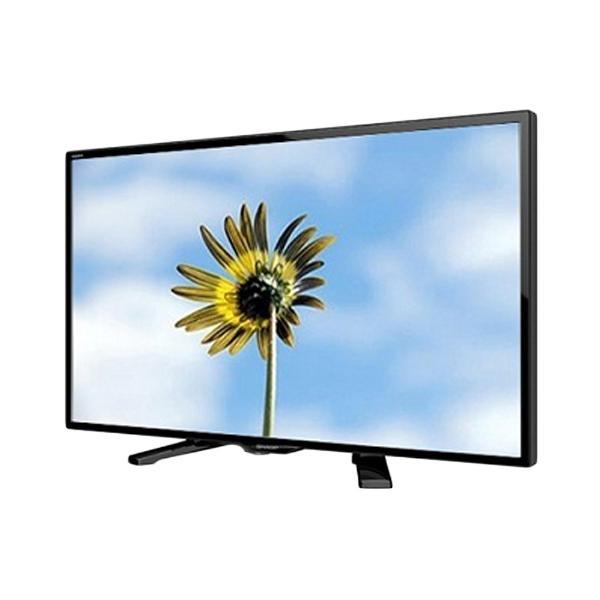 SHARP TV LED - Hitam [24 Inch]