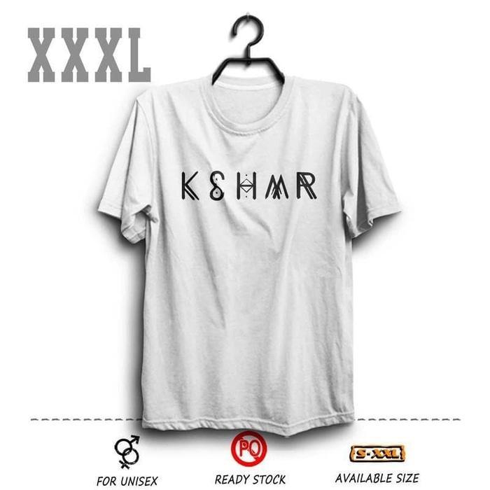 Kaos DJ KSHMR Putih BIG SIZE XXXL ( Khasmir Djakarta Warehouse Project