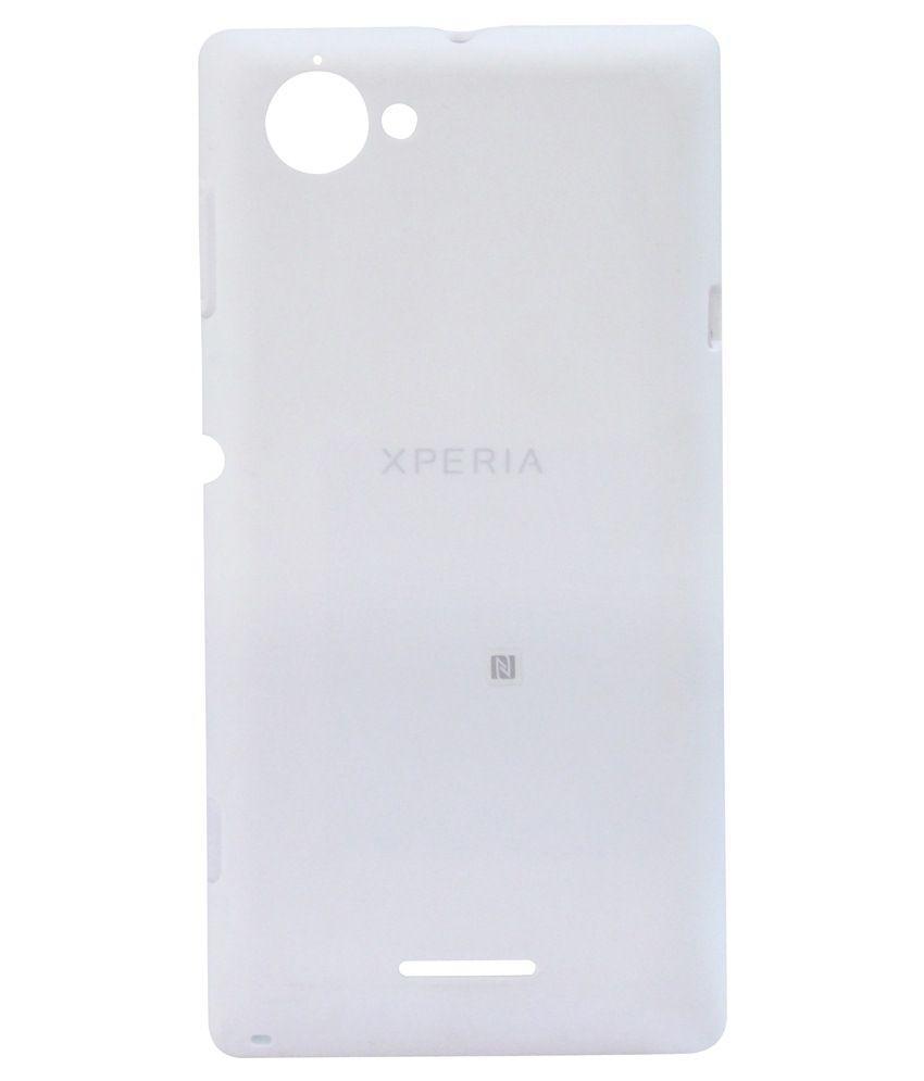 Casing Handphone Smartphone Sony Back Cover Z3 Tutup Battre Xperia L C2105 43 Inch Case Penutup Belakang