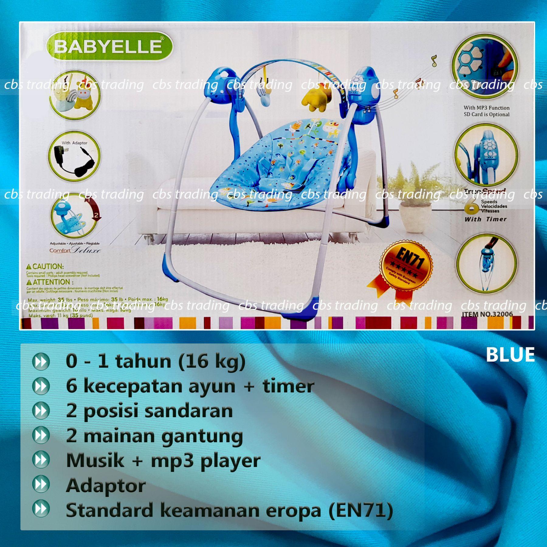 COM - babyelle fold up infant. Source · Babyelle Automatic Baby Swing - Kursi Ayun Bayi Baby Elle Otomatis 320006 - blue