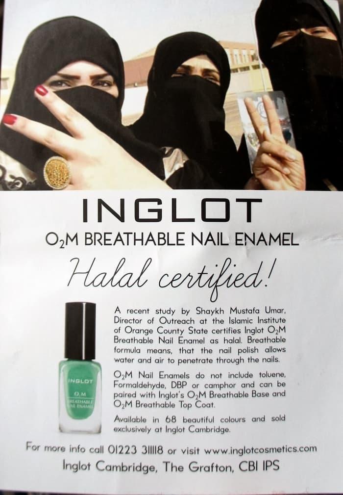INGLOT NAIL ENAMEL - 638 - 2