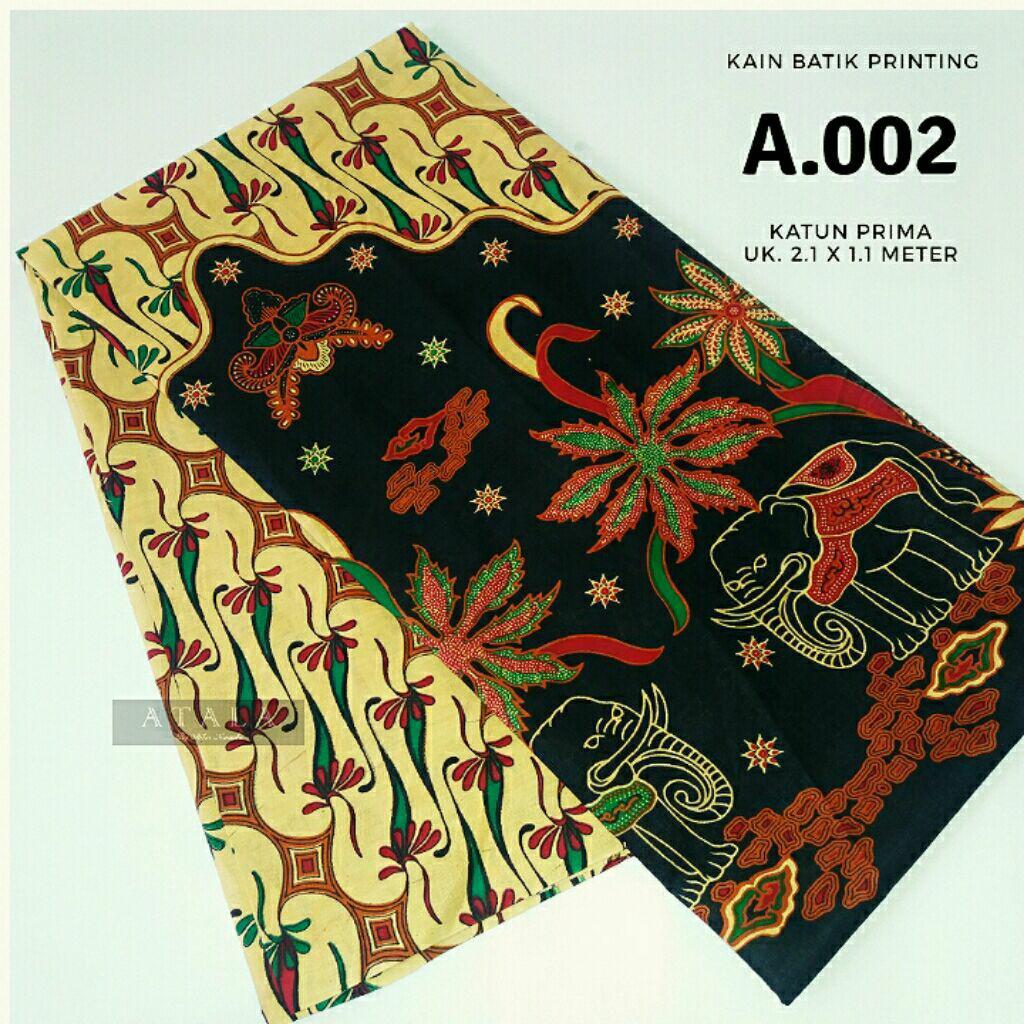 Fitur Sarung Batik Cap Handmade 002 King Projo Dan Harga Pekalongan Kain A002 Printing