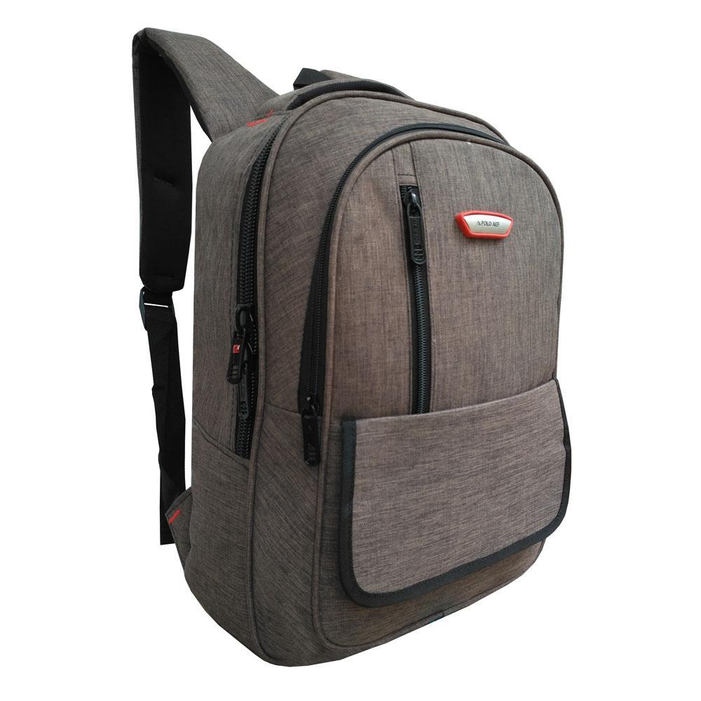 Detail Gambar Tas Ransel Laptop - Tas Pria Tas Wanita Tas Laptop Polo ALF - Backpack