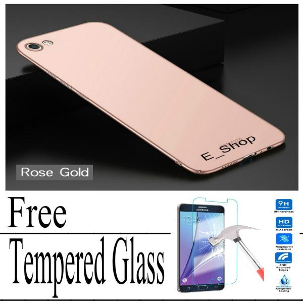 Hard Case For Vivo Y81 Baby Skin Slim Free Tempered Glass / Fortune_Shop