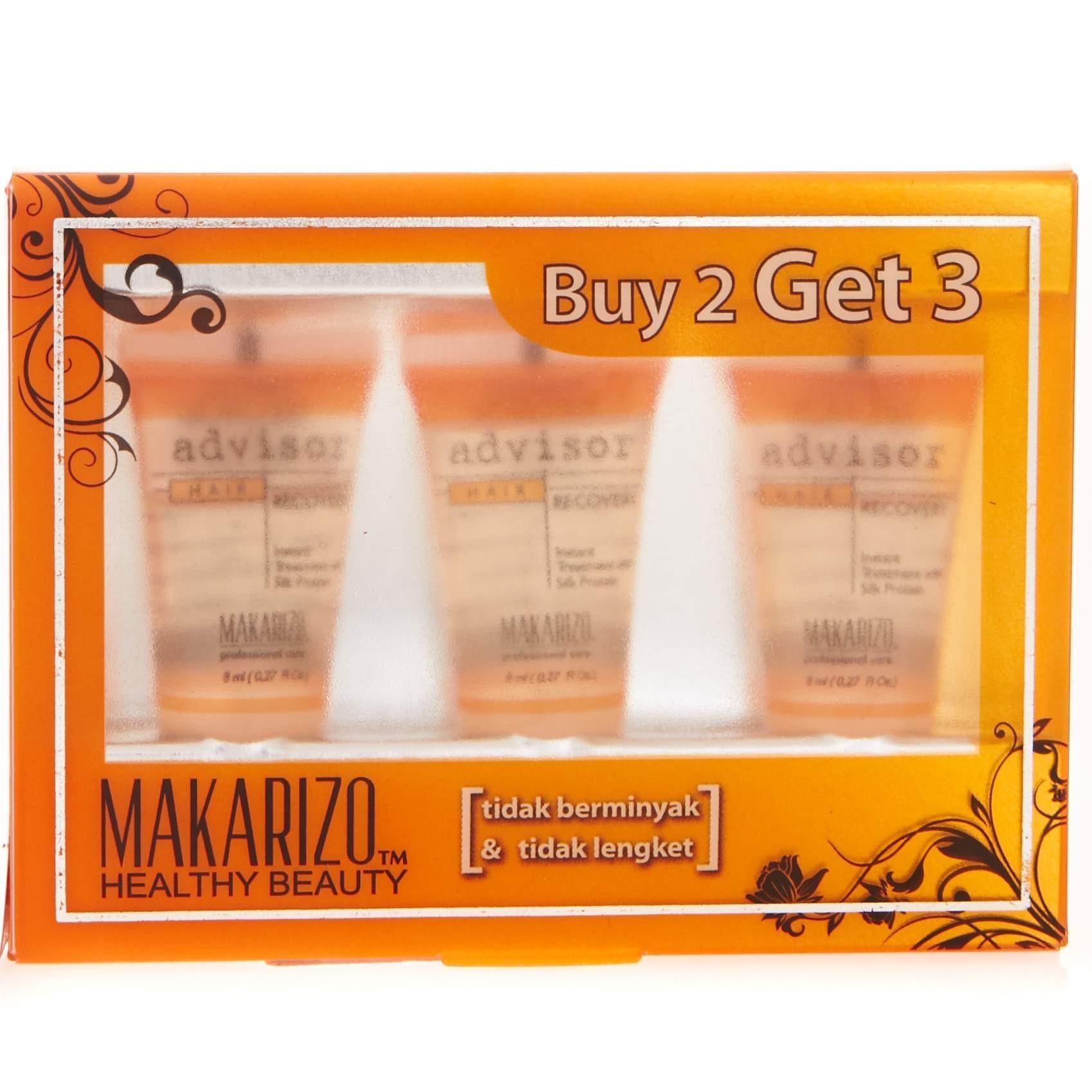 MAKARIZO Advisor Hair Recovery Set 3x8Ml