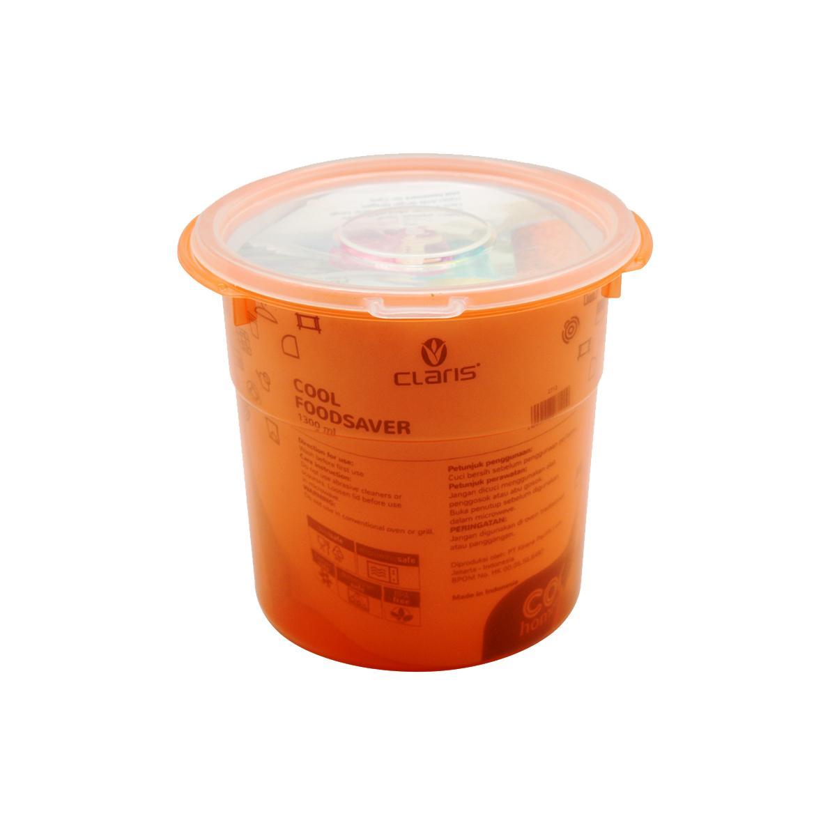 Features Claris Toples Kue Kering 1300 Ml Plastik Sambal Snack Peralatan Dapur