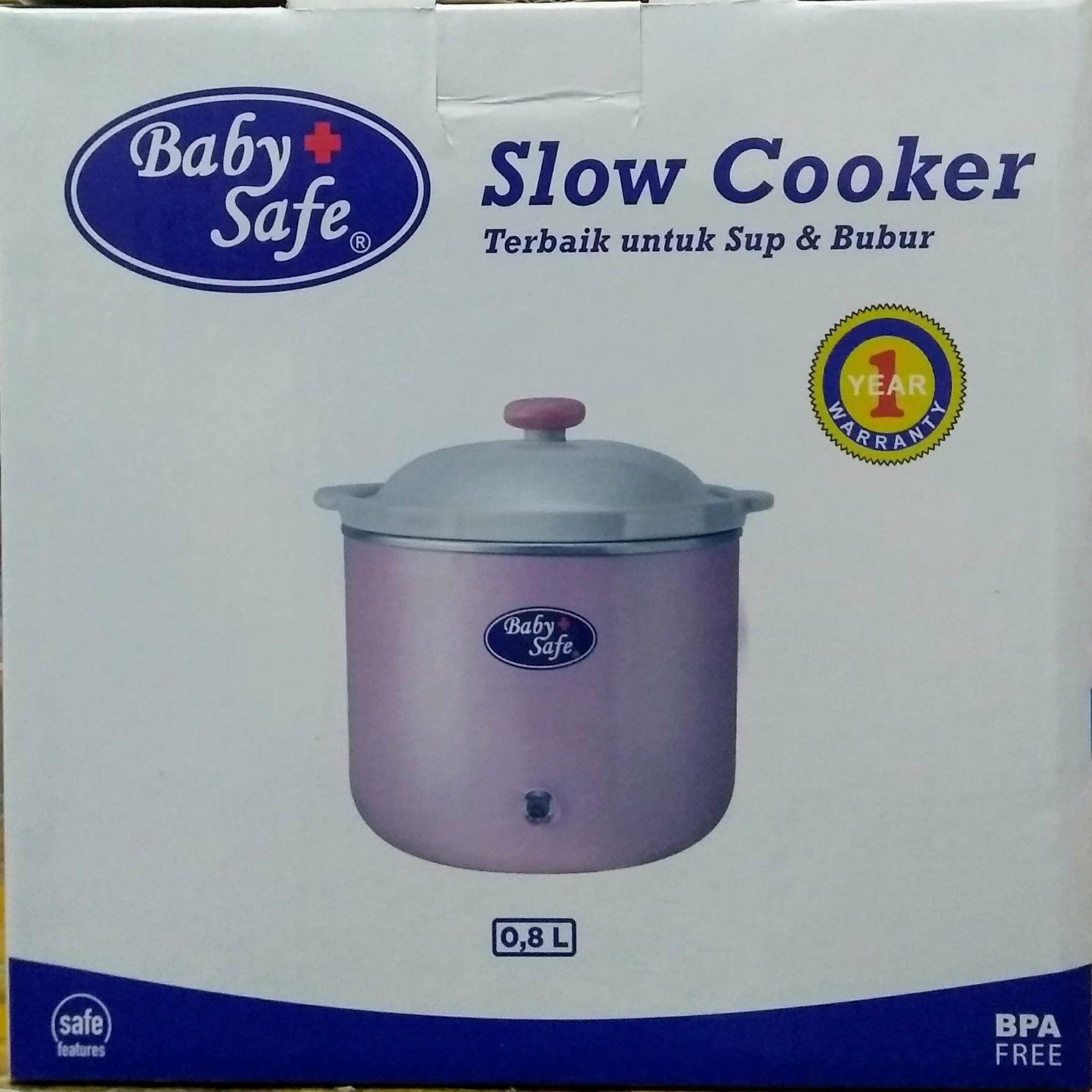 Slow Cooker manual Baby Safe